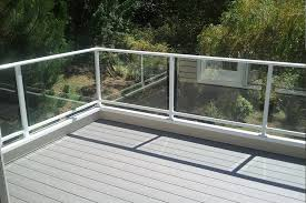 surface mount single top clear glass rail g 11