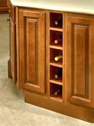 Wine Racks For Cabinets Base Wine Rack Modified By Base Spice Rack 6 Bcd Kitchen
