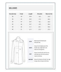 T Shirt Size Chart India Rldm