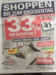 Höffner Schenkt Deutschlandweit 33 Auf Alle Möbel Küchen