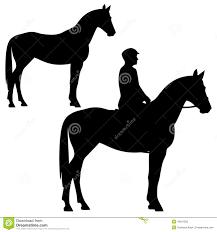 standing horse silhouette. Modren Horse Horse And Horseman  Standing Animal Profile Silhouette Black White  Vector Design Intended Standing Silhouette