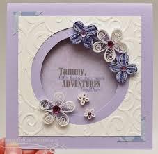 Invitation Card Design Handmade Purple Quilling Flowers Birthday Card Girl Handmade