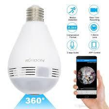Mini Wifi Ip Camera Wireless Panoramic 1080p Home Security Cctv