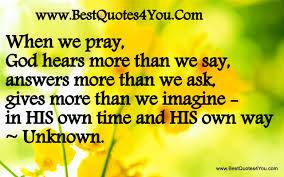 Image result for free praise for answered prayer