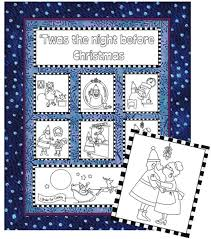 Twas the Night Before Christmas Quilt Pattern CP-013 (advanced ... & 'Twas the Night Before Christmas Quilt Pattern CP-013 Adamdwight.com