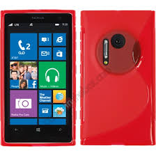 nokia 1020. wholesale s line style soft tpu back case cover for nokia lumia 1020 - red