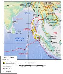 n ocean earthquake triggers deadly tsunami map showing the tectonic setting of the magnitude 9 0 earthquake that generated the tsunami