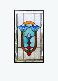 hanging stained glass affordable beveled flower stained glass panel window hanging red blue amber stained glass window panel hanging stained glass on wall