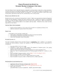 Nursing Student Resume Objective Vozmitut