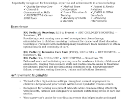 Experience Certificate Sample For Nurses Fresh Nurse Resume Format