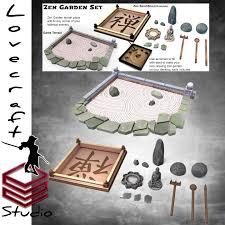Загрузить zen garden set by iain lovecraft
