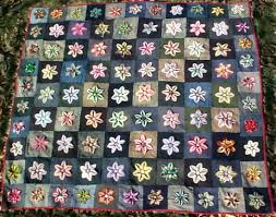 Pictures of PA Mennonite Chenille Star Quilt &  Adamdwight.com
