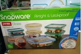 pyrex snapware costco glass lock