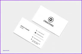 Business Card Layout Illustrator Luxury Business Card Template