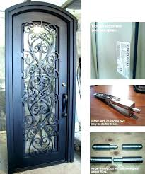 double front doors with glass double entry doors home depot iron entry doors glass and iron