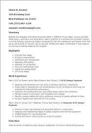 asic design resume