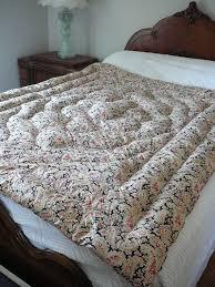 99 best Vintage Eiderdowns images on Pinterest | Bee, Blankets and ... & Antique Cottage Red & Black Eiderdown Quilt Adamdwight.com