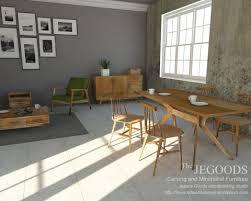 modern contemporary furniture retro. Konsep-gambar-mebel-retro-minimalis-modern-diningroom-3d-cad-design- Furniture-jepara-goods-woodworking Modern Contemporary Furniture Retro F