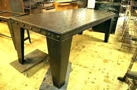 metal pedestal table base. Trending Industrial Metal Table Legs H3147499 Pedestal Base Dining