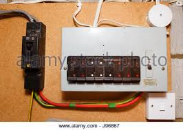 old style fuse box stock photo, royalty free image 54697361 alamy old fuse box wiring diagram at Old Fuse Box Wiring