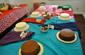 cake boss prep cake boss themed tween birthday party idea club chica circle on cake themed birthday party