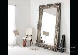 white leaning floor mirror.  Mirror Ornate Floor Mirror Top Large Mirrors Decorative In Extra  Leaning Prepare White Standing On