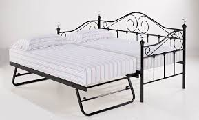 daybed with trundle. Florence Black Single Day Bed With Trundle Daybed D