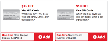 expired safeway 15 off two 100 visa