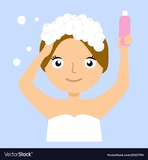 washing hair clipart.  Washing Washing Clipart Girl Washing Hair Picture Free On Hair Clipart R