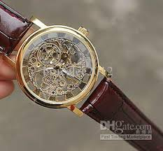 luxury men leather watch bands mechanical stainless jelly hello friend gold dial and silver dial black belt and brown belt please let me know the appointed watches before your order otherwise i`ll send them