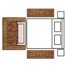 bedroom layout 6 9 rug with rug runners