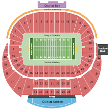University Of Oregon Football Stadium Seating Chart Autzen Stadium Seating Chart Autzen Stadium Eugene Oregon