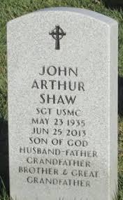 John Arthur Shaw (1935-2013) - Find A Grave Memorial