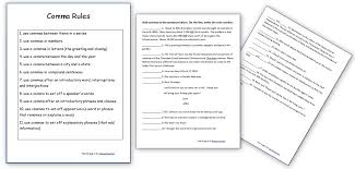 Free Grammar Worksheets: Capitalization Rules Practice Sheets ...