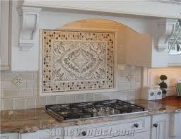 Tile Backsplashes With Granite Countertops Stunning Typhoon Bordeaux Granite Kitchen Countertop Glass Mosaic Backsplash