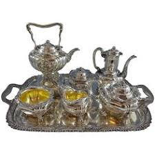 English King by <b>Tiffany</b> & Co. Sterling Silver Tea Set <b>6</b> Pieces No ...