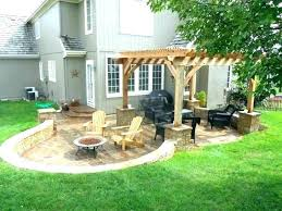 Backyard Landscape Designs On A Budget Delectable Pictures Of Wonderful Backyard Ideas With Inexpensive Installations