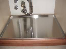 under sink pan ideas