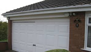 how long after fitting may i close the garage door