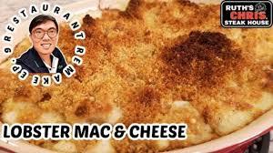lobster mac cheese ruth s chris