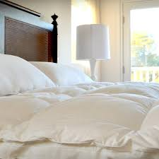 Floating Cloud Bed Luxury White Down Feather Bed Downlinens