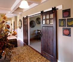 image of custom sliding barn doors interior