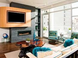 Small Picture Living Room With Fireplace And Tv On Opposite Walls Design
