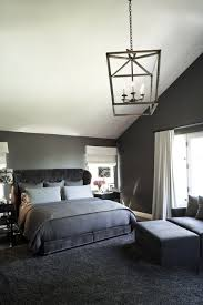 Grey Modern Apartment Bedroom With Soft Carpet Floor Guest - Grey carpet bedroom