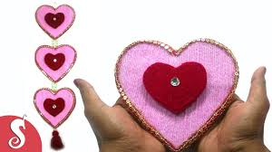 Small Picture DIY Heart Shape Woolen Wall Hanging Design for Home Decore YouTube