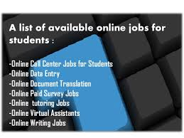 online jobs for students  online writing jobs 3