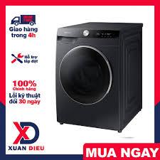 Máy giặt sấy Samsung AI Inverter 14kg WD14TP44DSB/SV Mới 2021 Công nghệ giặt  khô Air Wash giúp khử mùi