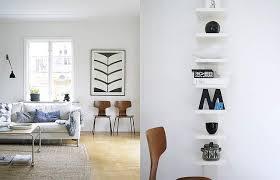 white on white white walls living room