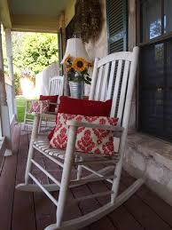 wooden rocking chair front porch home remodeling front porch rocking chairs for decoration