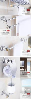 Modern Bathroom Accesories Silver Bathroom Accessories Set Luxury Bath Accessory Collection